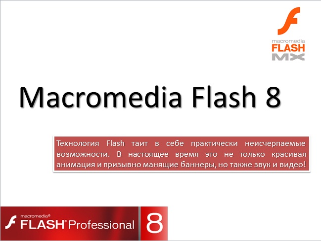 an analysis of the topic of the macromedias flash technology